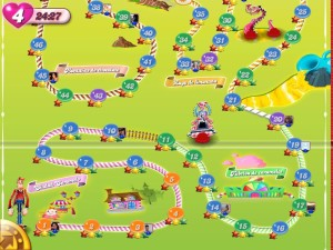 Cand Crush Saga Game Play for Phone iPad